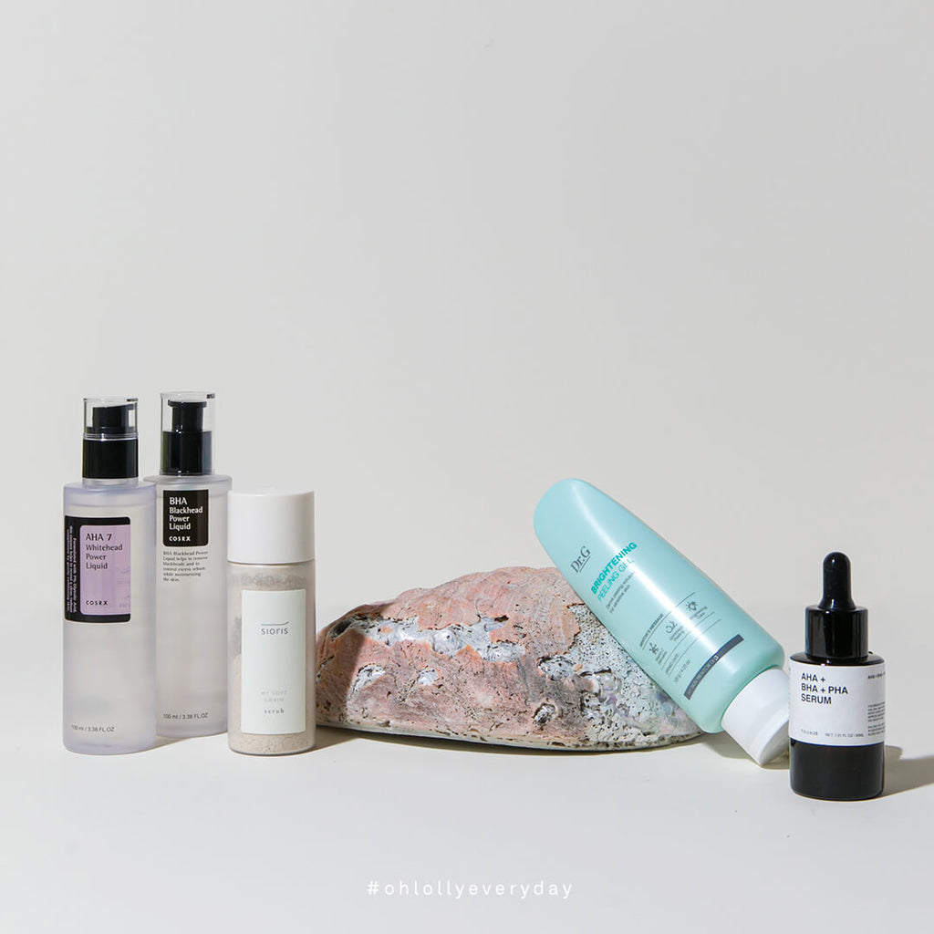 Types of Exfoliators at Ohlolly