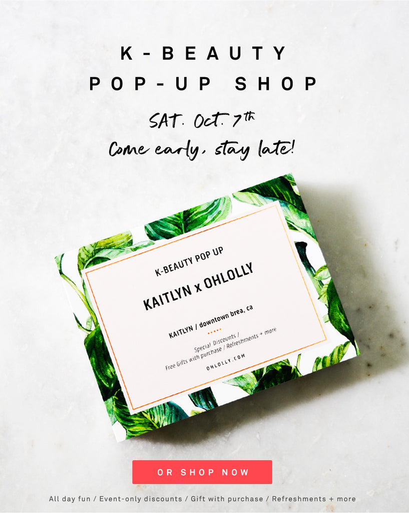 Ohlolly Popup at Kaitlyn Brea