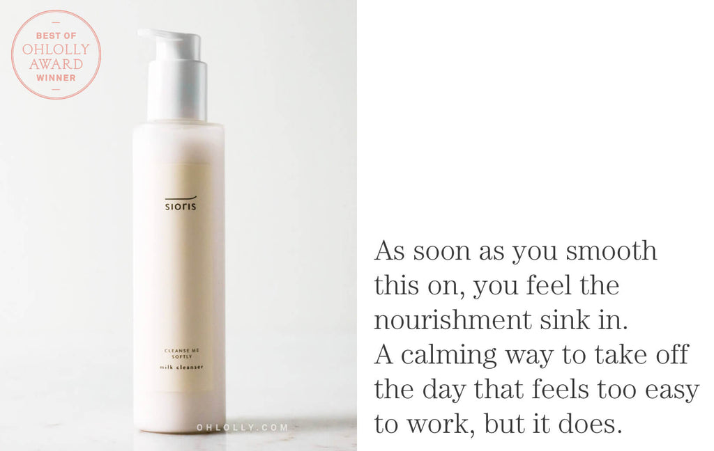Best of Ohlolly - Sioris Cleanse Me Softly Milk Cleanser