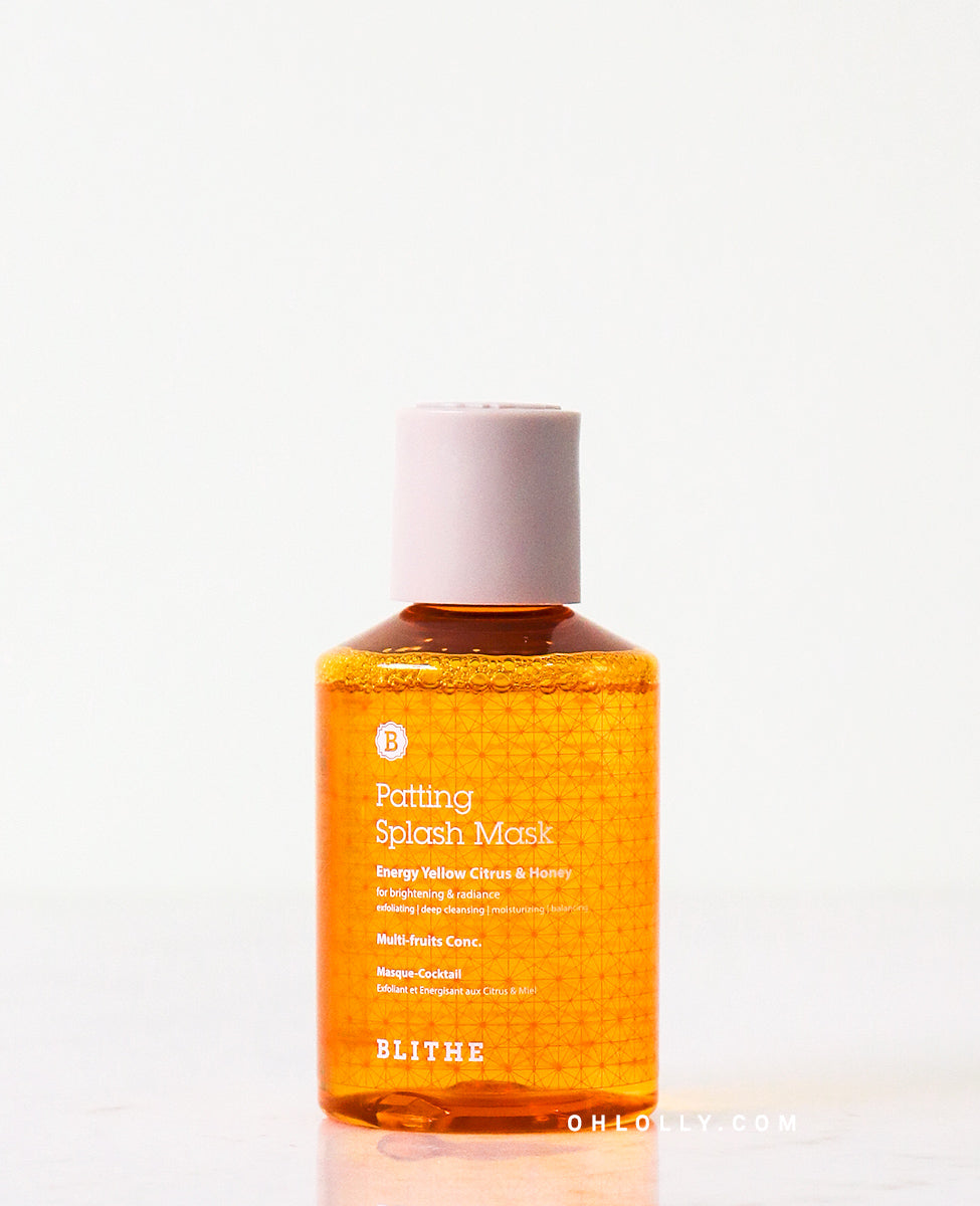 Blithe Yellow Citrus & Honey Patting Splash Mask