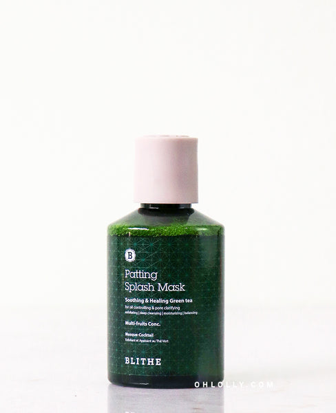 Blithe Green Tea Patting Splash Mask