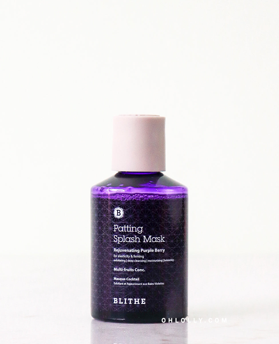 Blithe Purple Berry Patting Splash Mask