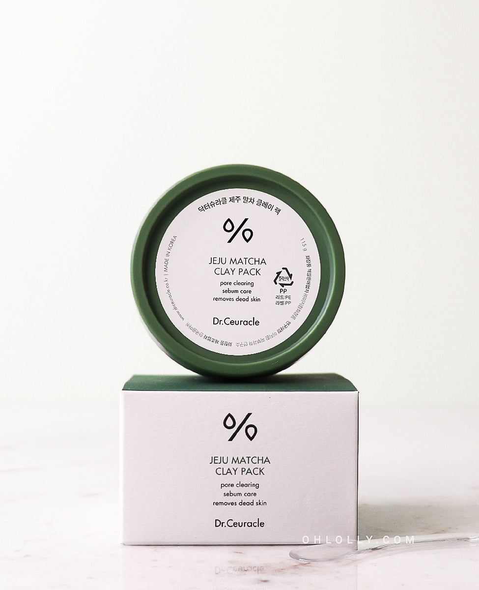 Dr. Ceuracle Jeju Matcha Clay Pack