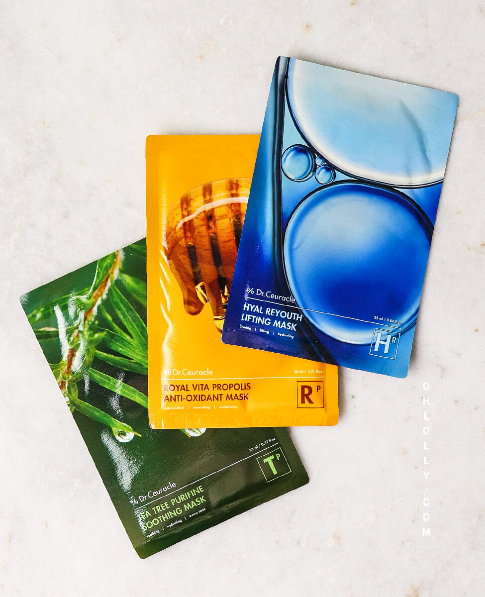 Dr. Ceuracle Sheet Mask Trio
