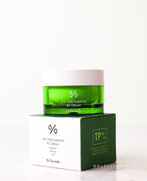 Dr. Ceuracle Tea Tree Purifine 80 Cream
