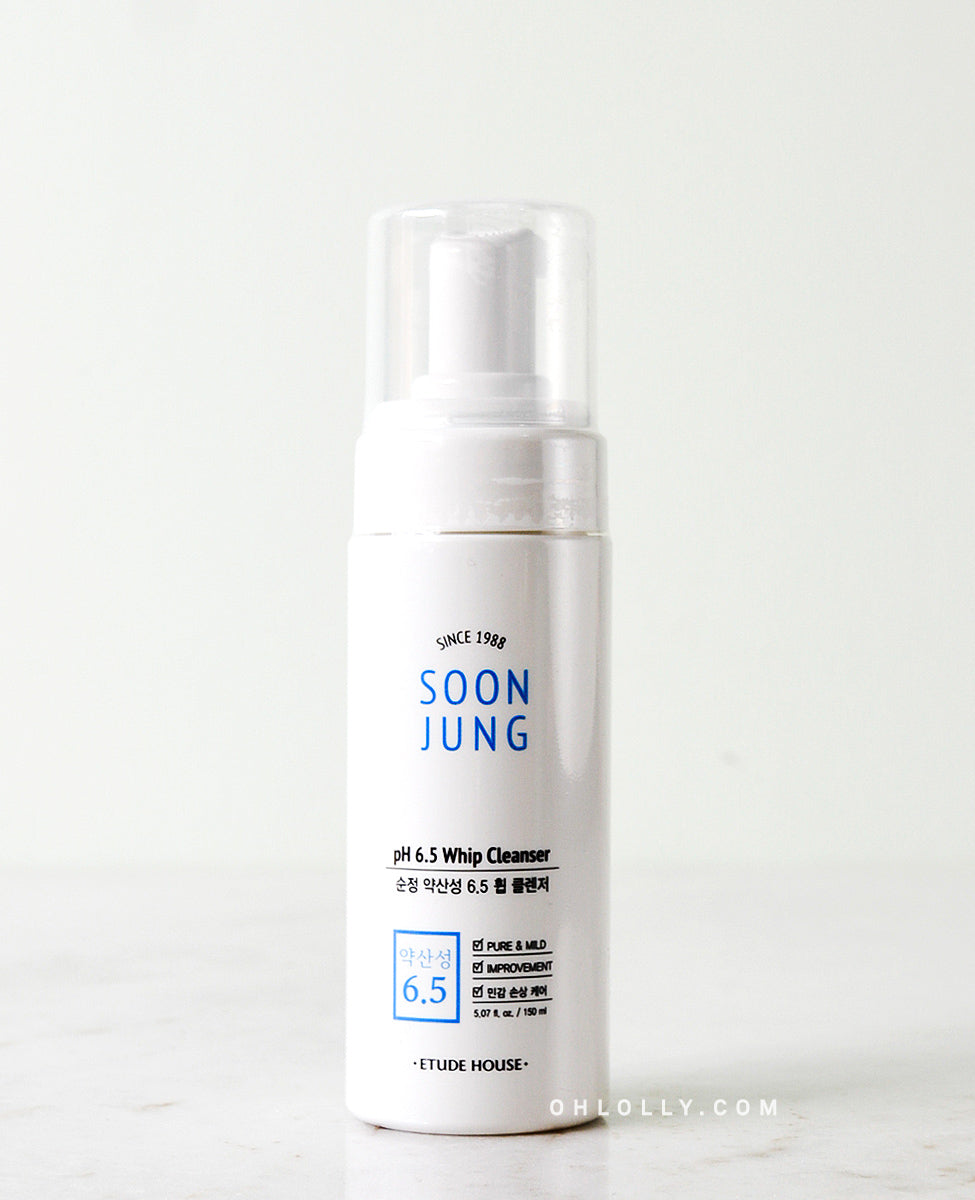 Etude House SoonJung pH 6.5 Whip Cleanser
