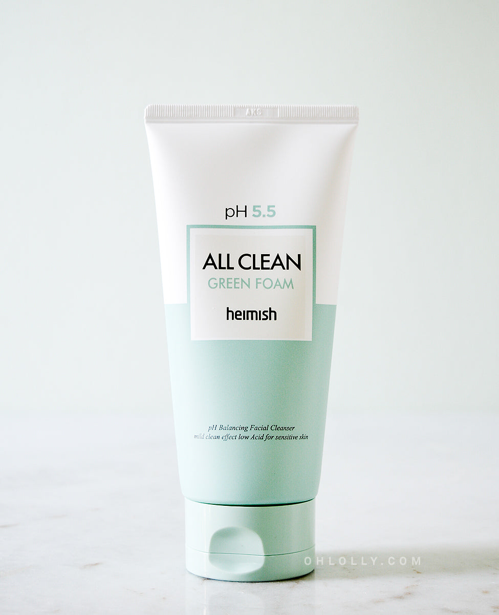 Heimish All Clean Green Foam pH 5.5