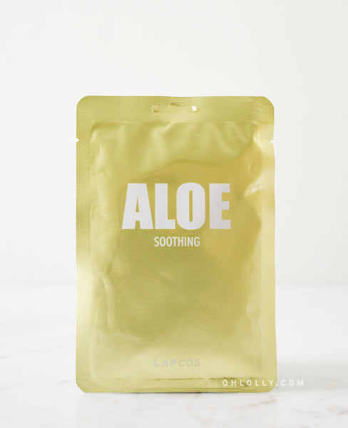 Lapcos Daily Skin Mask - Aloe