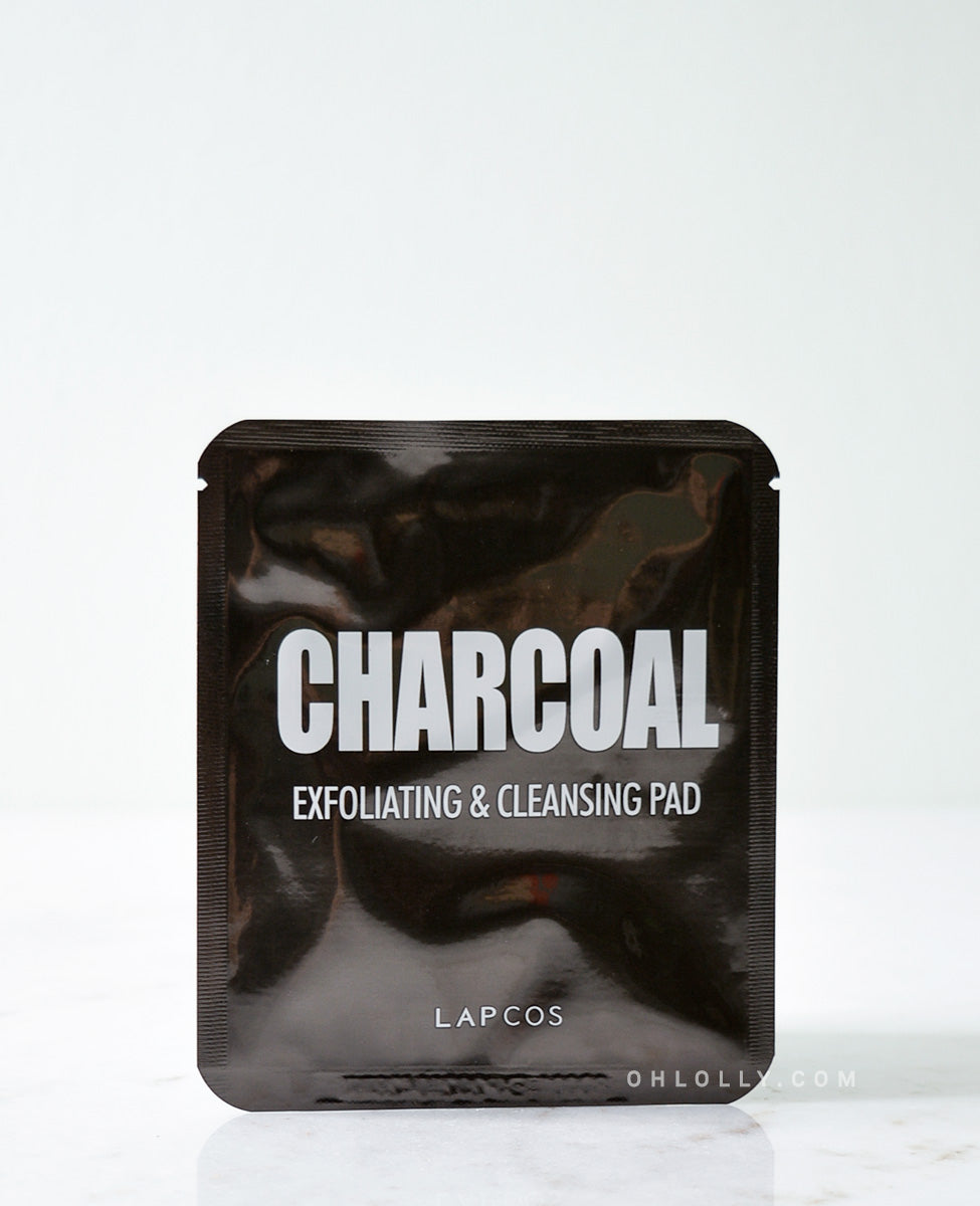 Lapcos Charcoal Exfoliating & Cleansing Pad