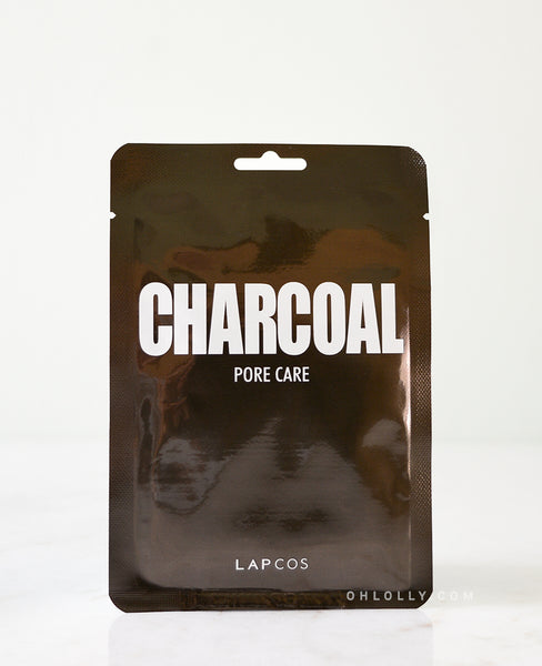 Lapcos Daily Skin Mask - Charcoal