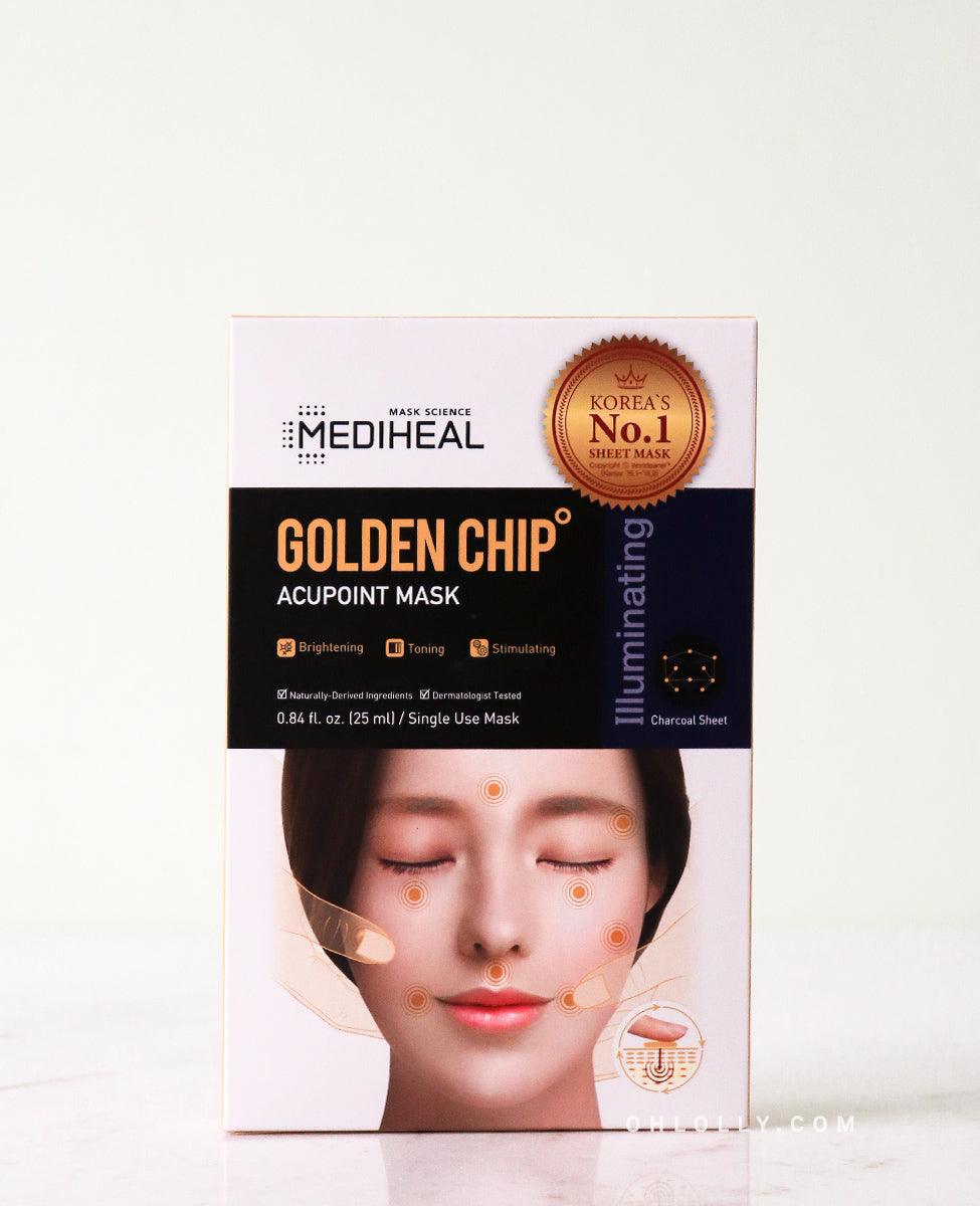Mediheal Golden Chip Acupoint Mask