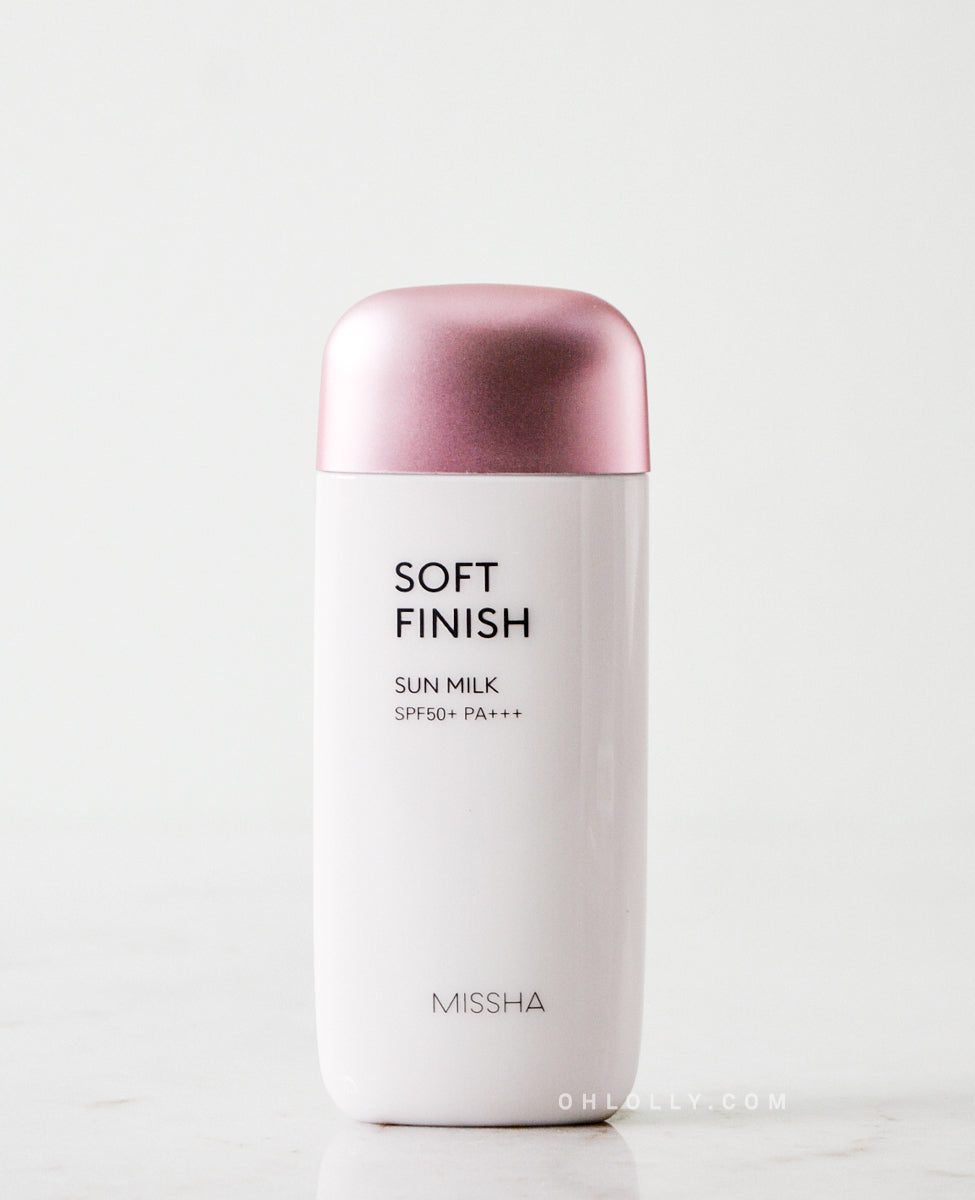 Missha All-around Safe Block Soft Finish Sun Milk (SPF 50+ PA+++)