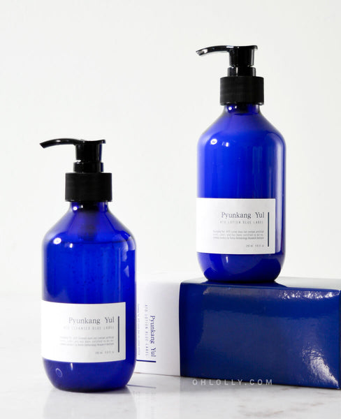 Pyunkang Yul ATO Blue Label Set (Wash + Lotion)