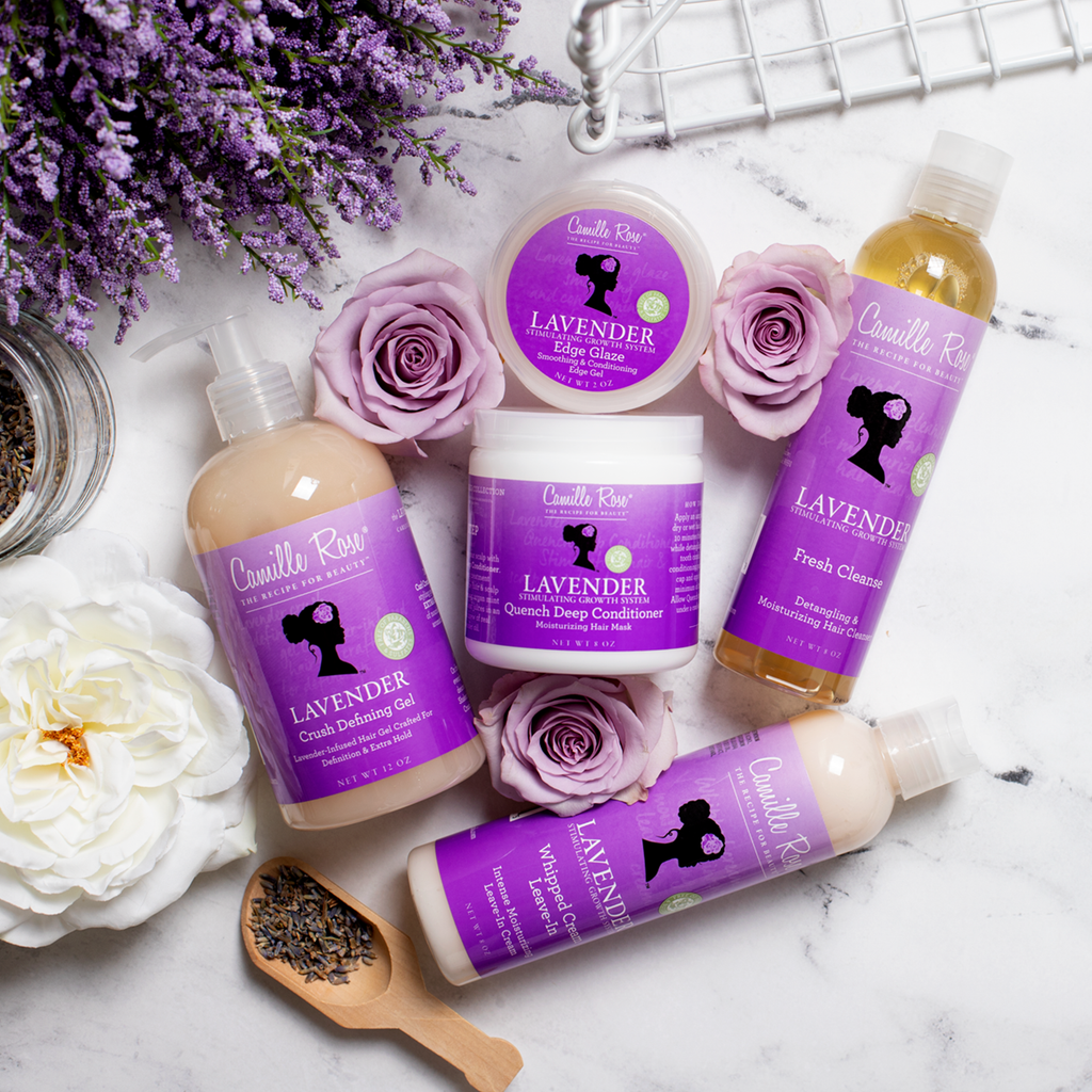 It's National Flower Month - Celebrate With Camille Rose Lavender Collection