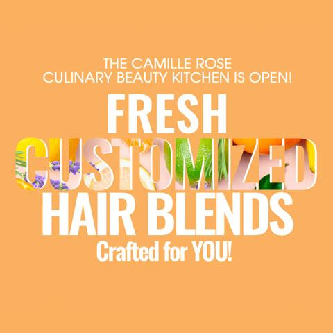 Camille's Culinary Kitchen Cooks Up Personalized Hair Care