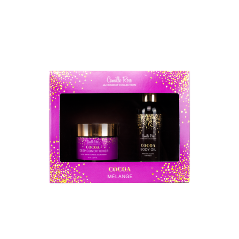 Cocoa Melange - Holiday Gift Set Duo