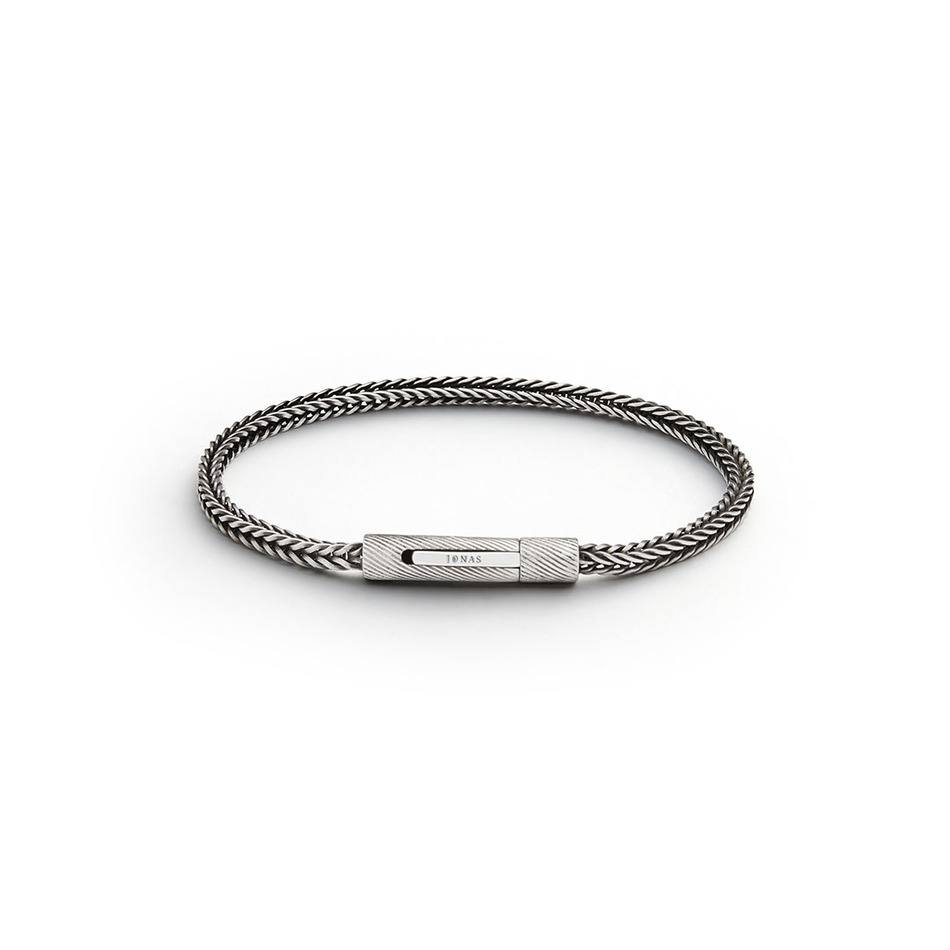 All Hours Bracelet - 3mm Sterling Silver Charm Bracelet - Jonas Studio