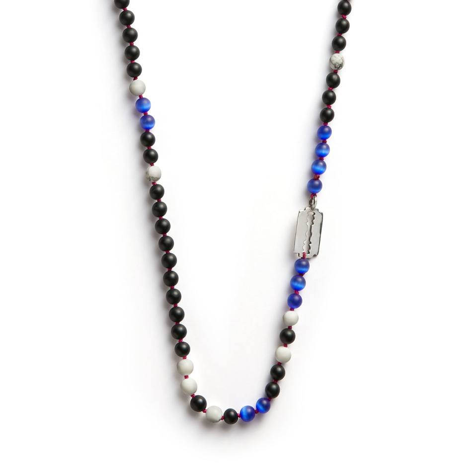 Night Runner Necklace - Men's Beaded Necklace - Jonas Studio