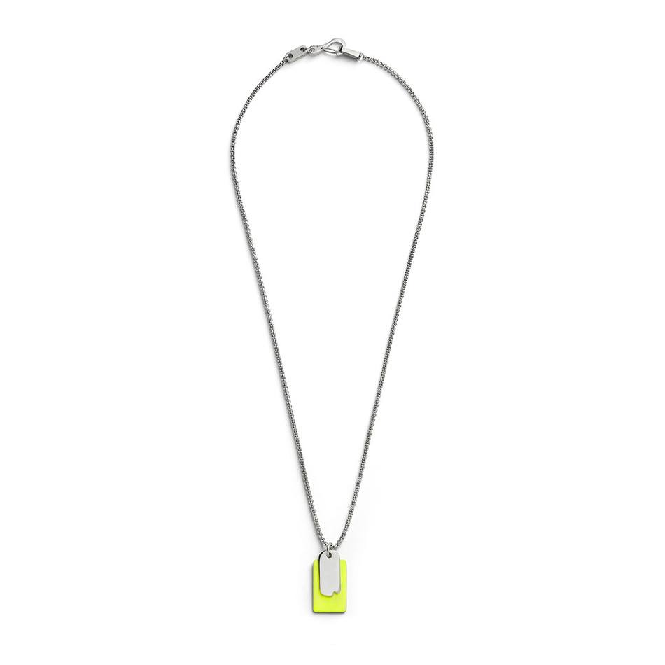 Time and Place Yellow Pendant - Men's Pendant Necklace - Jonas Studio