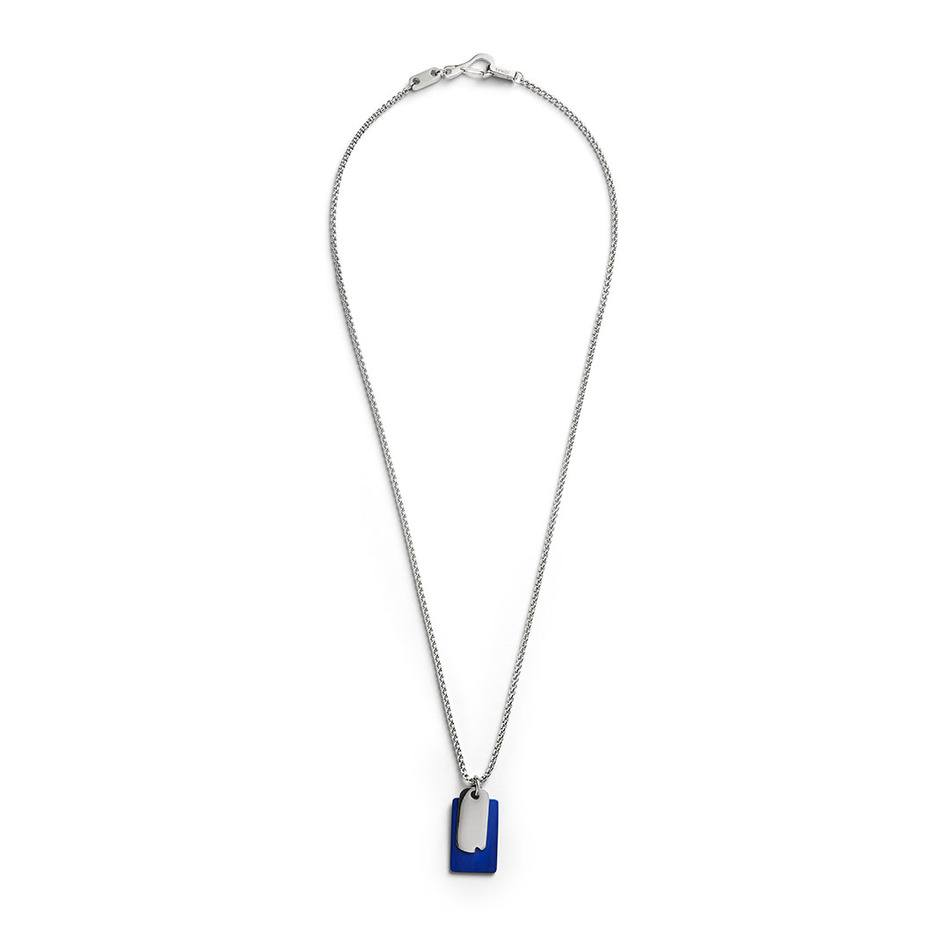 Time and Place Blue Pendant - Men's Pendant Necklace - Jonas Studio