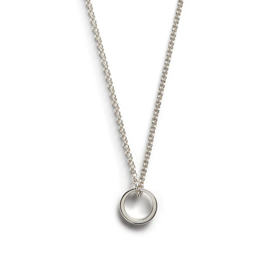 Halo Pendant - Men's Silver Pendant Necklace - Jonas Studio