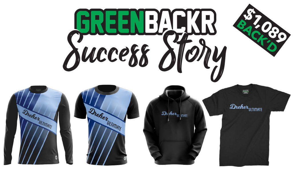 Greenbackr Crowdfunding Success Story: Dreher High Ultimate