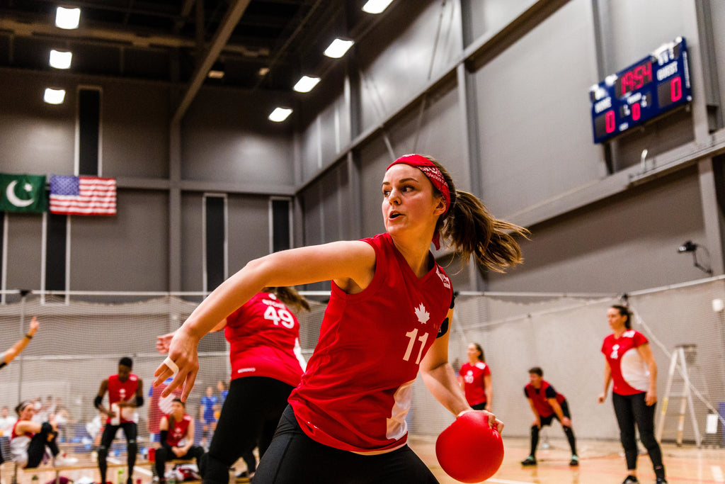 Don't Underestimate Women's Dodgeball Player Shauna Roe