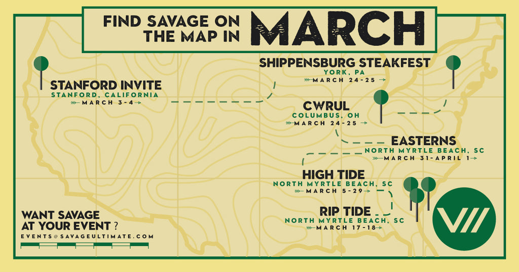 Where's Savage in March? High Tide and More
