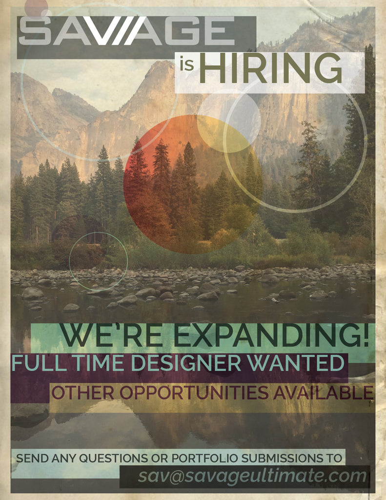 SAVAGE IS HIRING!