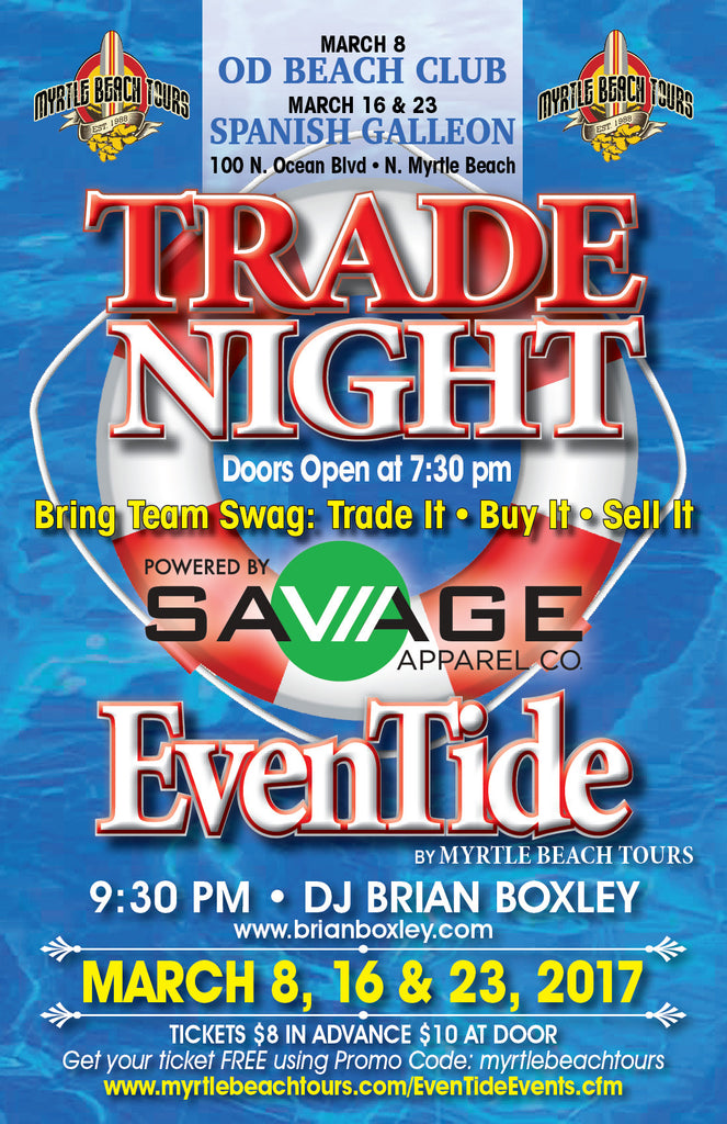 High Tide Trade Night and Dance Party