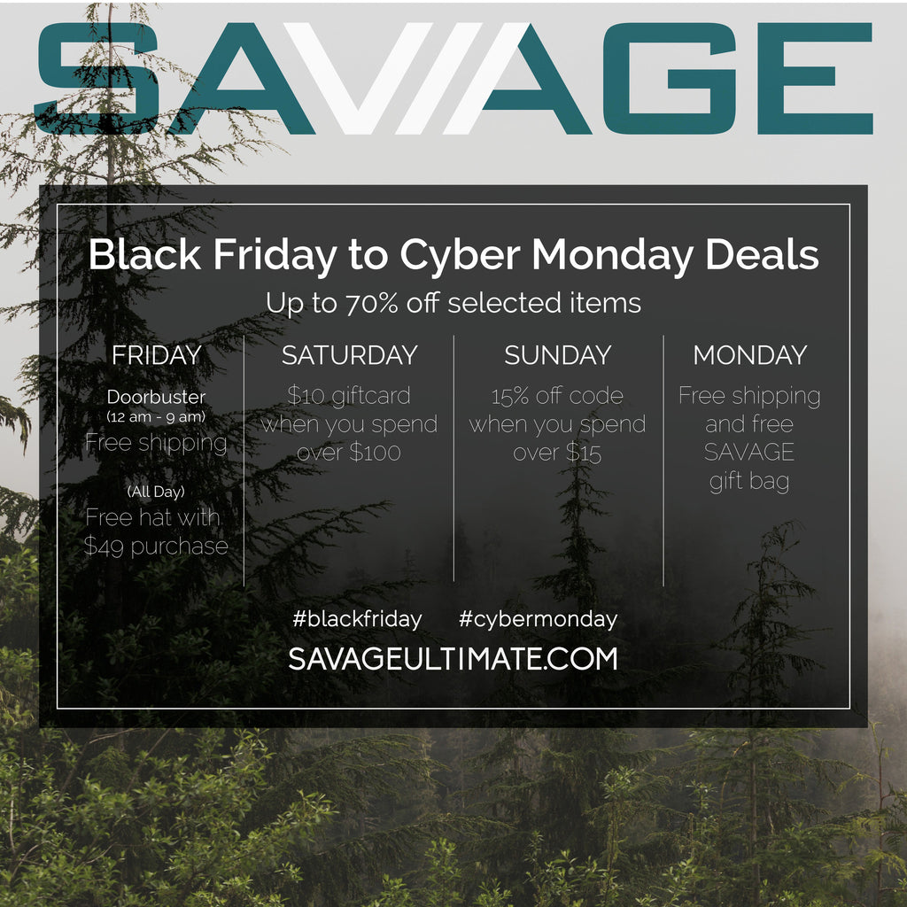 Black Friday to Cyber Monday Deals