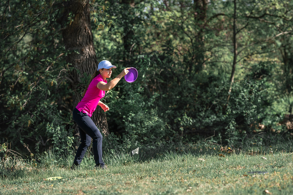 Hannah McBeth talks about being a woman in pro disc golf