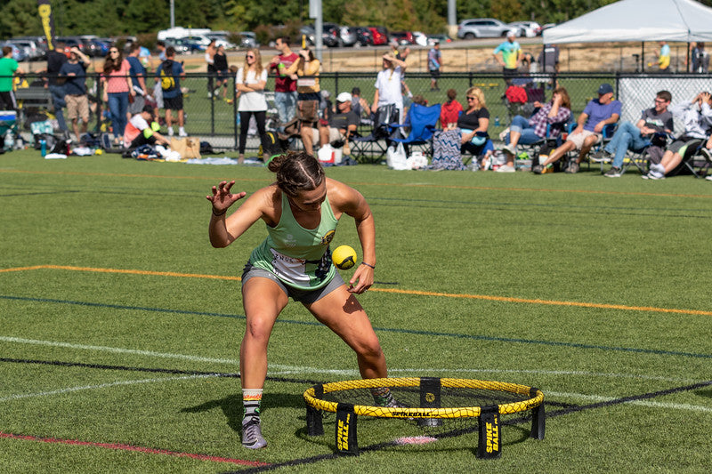 Tori Farlow is blazing trails for pro female Spikeball players ...
