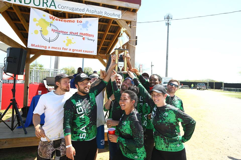Savage Takes Silver at Splatter That Matters Charity Paintball Tournament