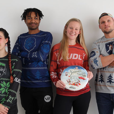 AUDL Holiday Jerseys