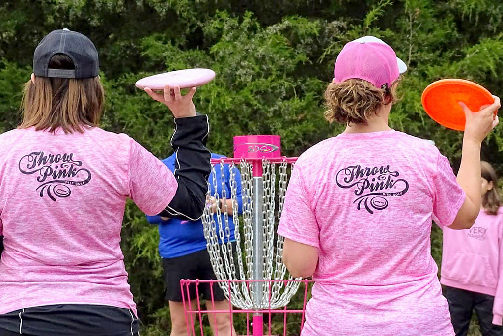 Throw Pink Women's Disc Golf Charity Tournament Event