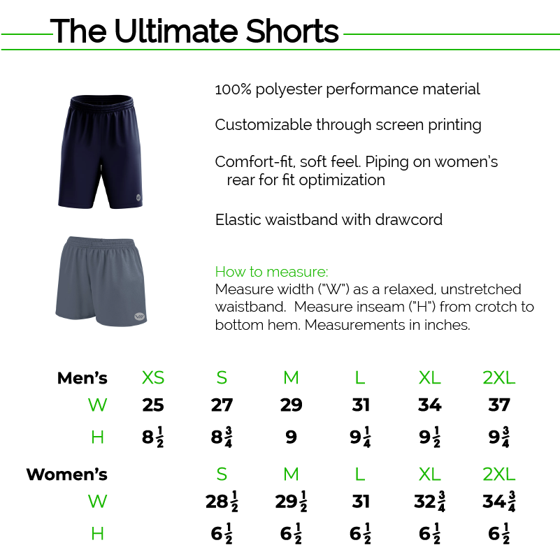 The Ultimate Shorts