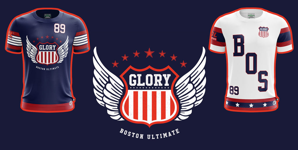 AUDL Boston Glory Official GreenLine Team Jersey On Sale Powered By Savage