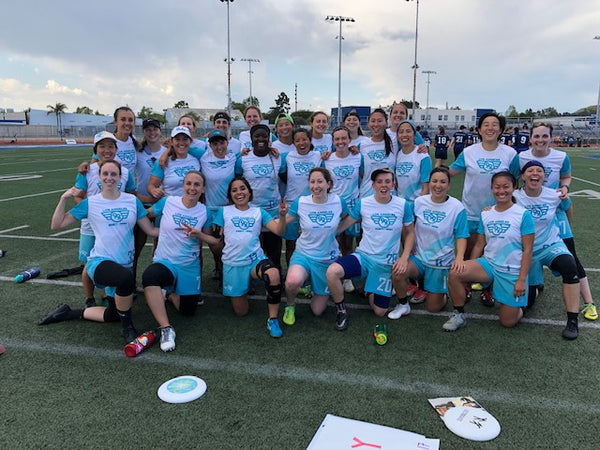 Los Angeles 99s ultimate frisbee women's