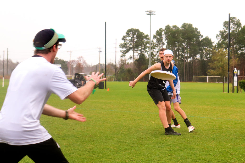 High Tide 2020 College Ultimate Frisbee Tournament Rain Game