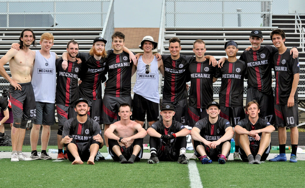 AUDL Mechanix Ultimate Frisbee Team Roster Photo