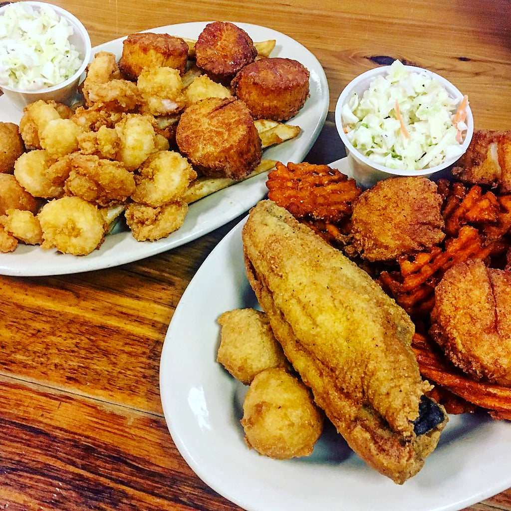 Best Cheap Eats Restaurants North Myrtle Beach The Shack Fried Catfish