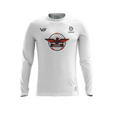 Falcons Roundnet White LS Jersey