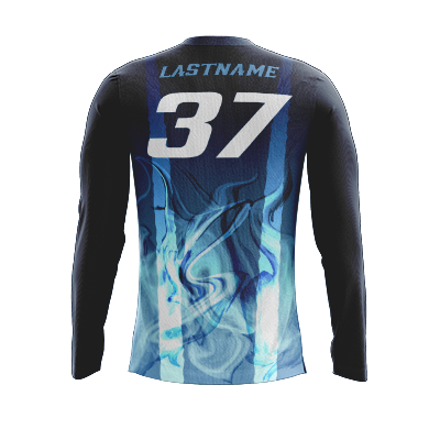 Mankato Blueskunks Dark Long Sleeve Jersey