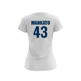 Mankato Blueskunks Light Jersey
