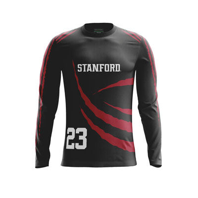 Stanford Bloodthirsty Dark Long Sleeve Jersey