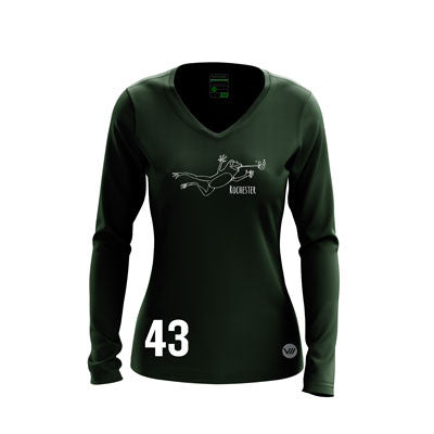 Rochester EZs Dark Long Sleeve Jersey