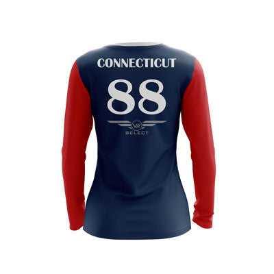 UConn Grind Dark Long Sleeve Jersey