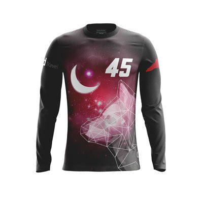 NC State Jaga Dark Long Sleeve Jersey