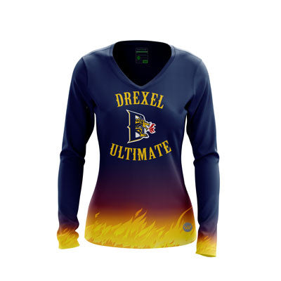 Drexel Women's Ultimate Dark LS Jersey